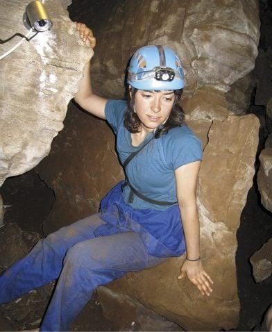 Alia Gurtov in Rising Star Cave