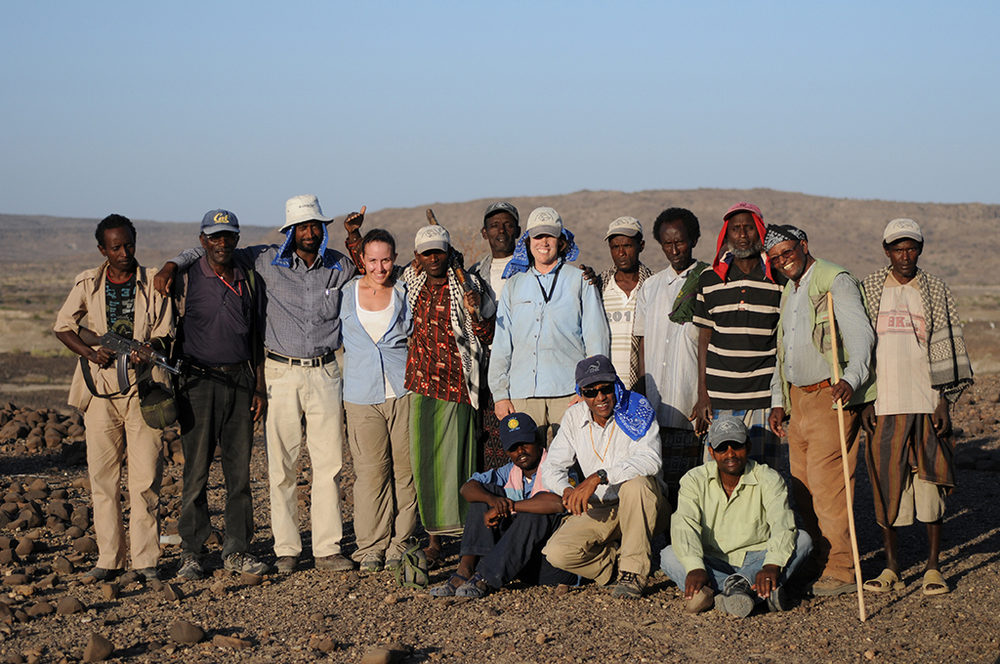 Participants of the 2011 Woranso-Mille project field season. Photo credit: The Woranso-Mille project.