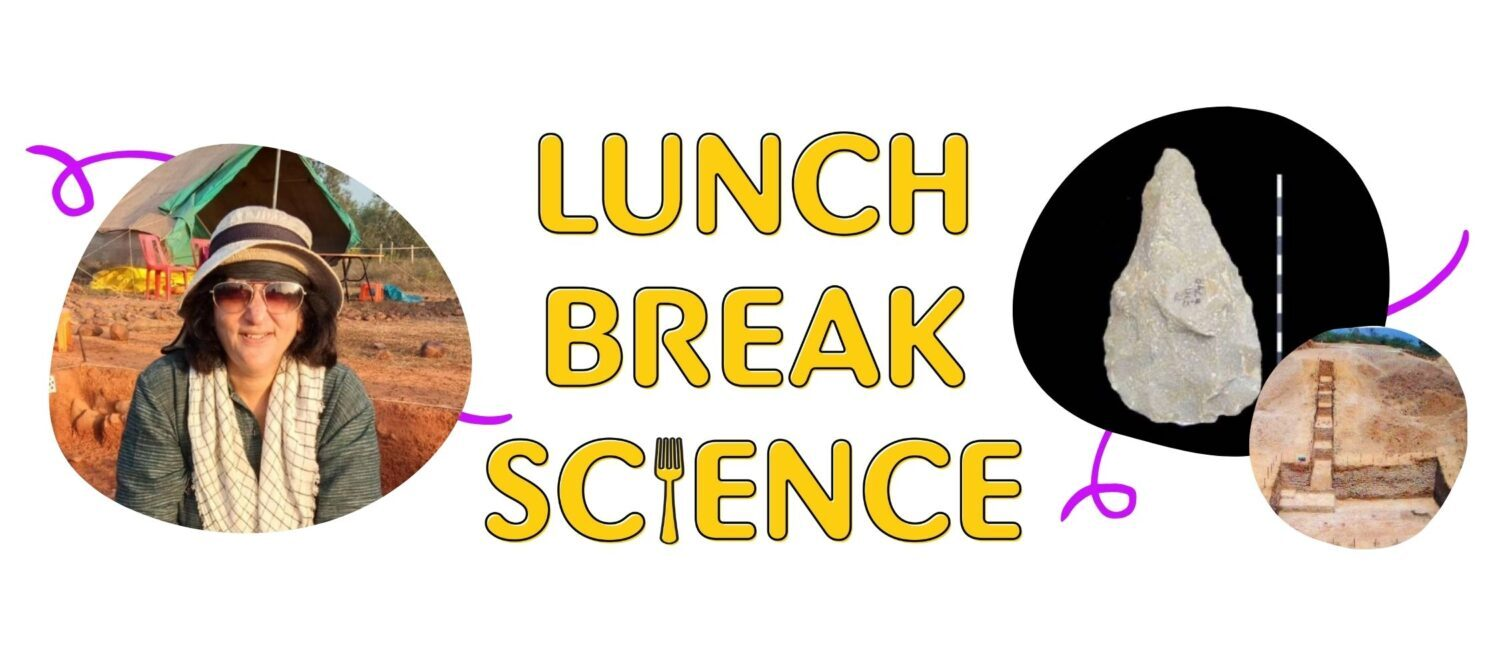 Lunch Break Science episode 34 on October 21, 2021 featured Dr. Shanti Pappu