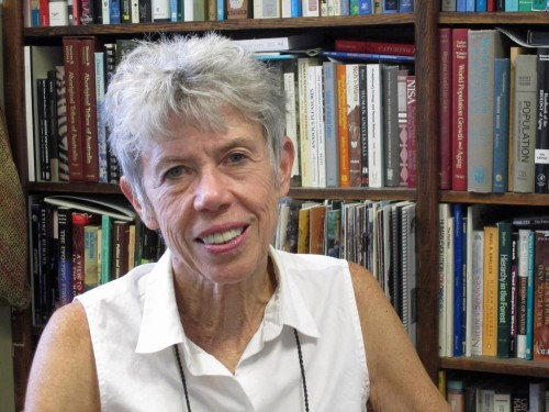 Kristen Hawkes, Leakey Foundation SEC member. Photo Credit: Lee J. Siegel, University of Utah