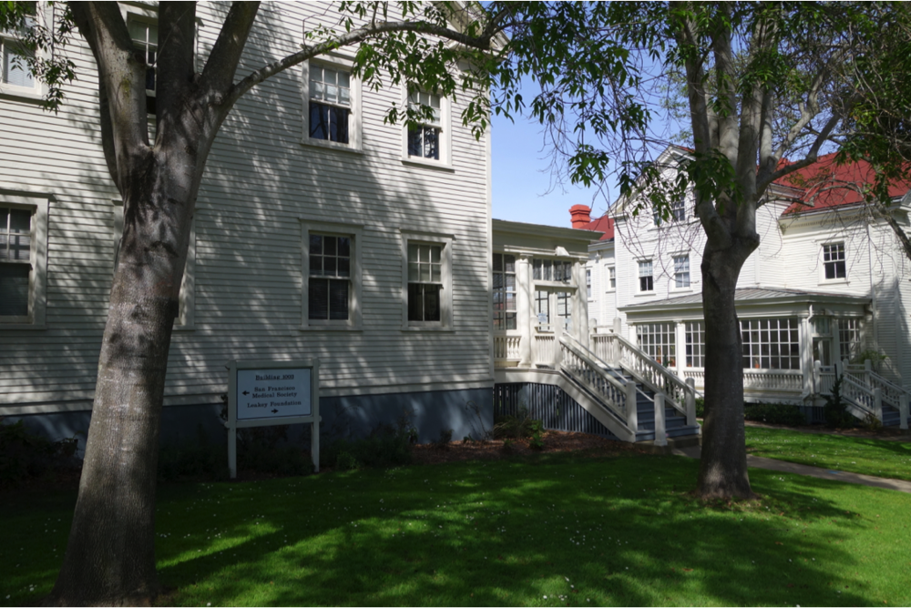 The Leakey Foundation office in the Presidio ofSan Francisco