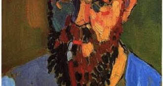 Portrait of Henri Matisse by André Derain 1905