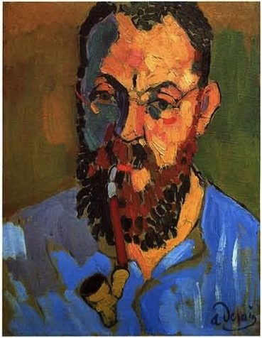 Portrait of Henri Matisse by André Derain 1905