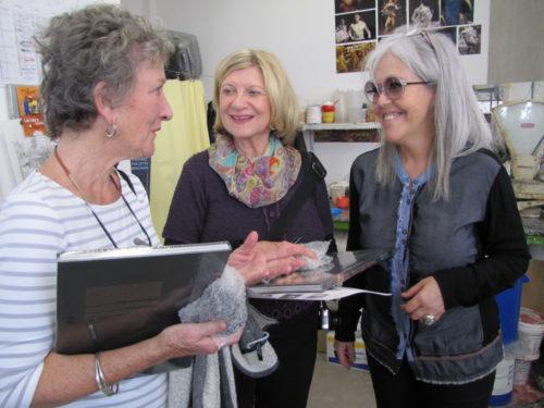 Susan Reynolds, Sharon Metzler-Dow and Elizabeth Daynes, Atelier Daynes, Paris