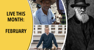 Yohannes Haile-Selassie, Jeremy DeSilva, and A Most Interesting Problem - Darwin Week events