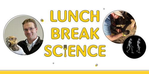 Jeremy DeSilva appears on Lunch Break Science February 11, 2021